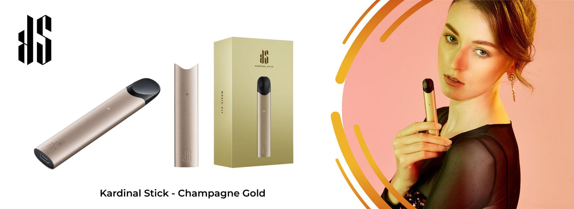 Kardinal Stick Champagne Gold